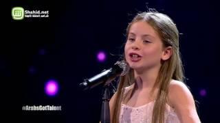 Arabs Got Talent- عرض النصف نهائيات –إيمان بيشه