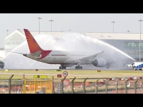Xxx Mp4 Air India 787 Dreamliner Inaugural Birmingham Flight 3gp Sex