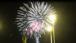 2013-08-09 Fireworks in Riyadh - Eid El Fitr