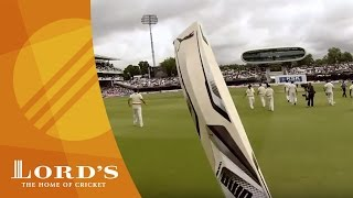 GoPro batting - Adam Gilchrist's walk out at Lord's | Access All Areas