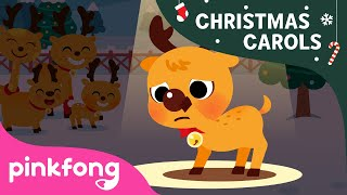 The Red Nosed Reindeer Rudolph | Christmas Carols | Pinkfong Songs for Children