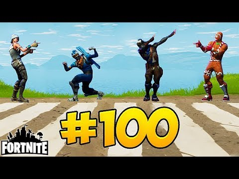 Fortnite Funny Fails and WTF Moments EPISODE 100 SPECIAL Daily Moments