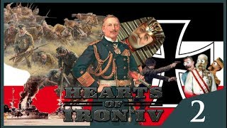 Hearts of Iron IV The Great War - German Empire #2 - Multiplayer Madness
