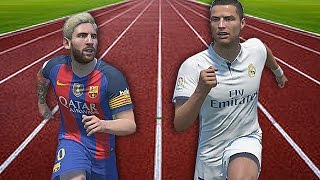FIFA 17 Speed Test: Cristiano Ronaldo Vs Lionel Messi