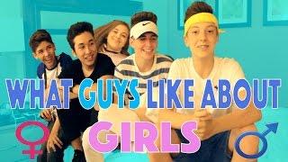 What Guys like about Girls ( feat. BruhitsZach , Mario Selman, Weston Koury, & Baby Ariel )