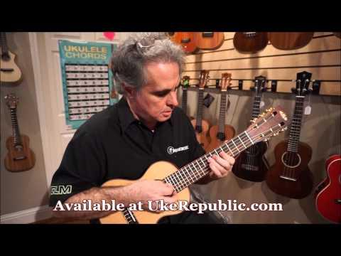 Kala KA-GL-KOA Solid Spruce Top, Koa B/S Guitarlele - UKE Republic Demo