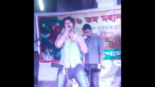 Mala Re song stage programme by ShaZzad Shadhin singer.