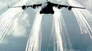 Pyrotechnic Cartridge Flares & Military AirCraft