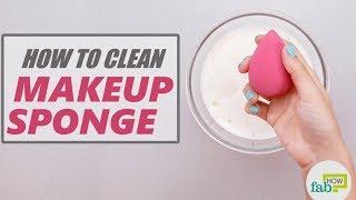 How to Clean Beauty Blender or Makeup Sponge (Safe Way)
