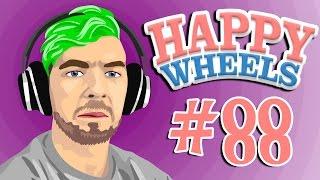 LAWNMOWER LAUNCHING LARRY | Happy Wheels - Part 88
