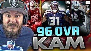 96 OVERALL!! KAM CHANCELLOR WE GOT HIM!! NEW LEGENDS - MADDEN 17 ULTIMATE TEAM PACK OPENING