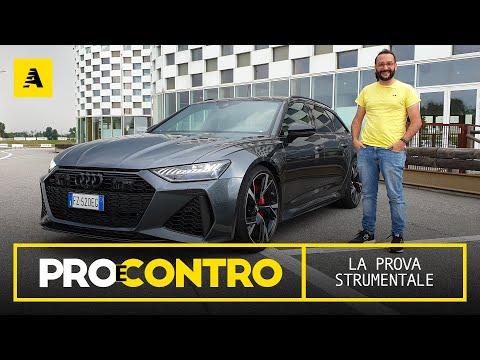 AUDI RS6 Avant 2021 PRO e CONTRO RECENSIONE STRUMENTALE