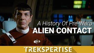 A History of Pre-Warp Alien Contact In Star Trek