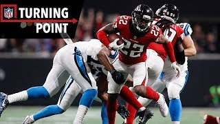 Falcons Defense Capitalizes on Newton's High Throws (Week 17)   NFL Turning Point