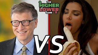 BILL GATES vs. BOKEP?! - The Higher Lower Game (Indonesia)