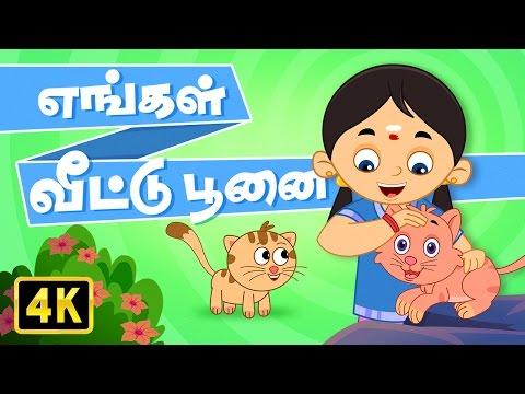 எங்கள் வீட்டு பூனை (Engal Veetu Poonai)   Vedikkai Padalgal   Chellame Chellam   Tamil Rhymes