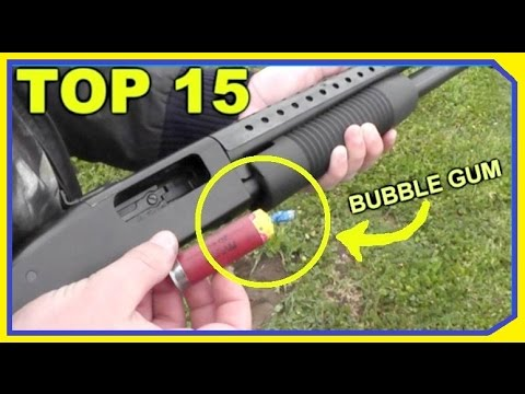 TOP 15 Oddest Shotgun Rounds THAT ACTUALLY WORKED