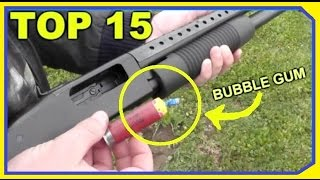TOP 15 Oddest Shotgun Rounds - THAT ACTUALLY WORKED!