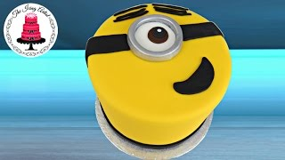 Despicable Me 2, Easy 3D Minion Cake - The Icing Artist