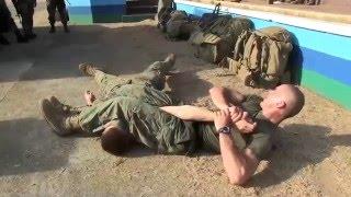 Balikatan 2016 - US  and Philippine Marines Conduct Martial Arts Training
