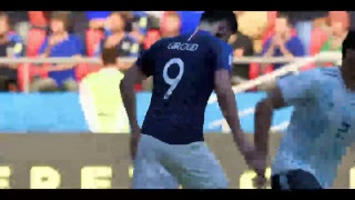 PS4 FIFA 18 Gameplay France vs Argentina [HD]