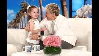 A NEW SONG ON THE ELLEN SHOW!!