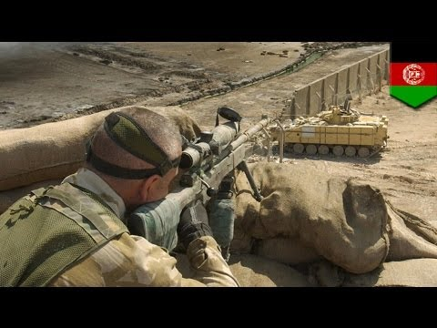 Xxx Mp4 UK Sniper Kills Six Afghan Insurgents With A Single Bullet In 2013 3gp Sex