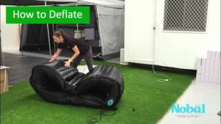 How to Inflate and Deflate a Nobal Spa