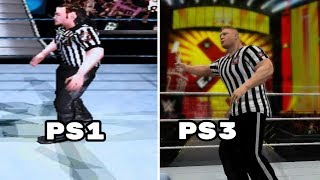 The Evolution Of The Special Guest Referee Match In WWE Games