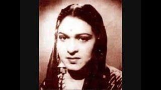 AMIR BAI KARNATAKI-Film-SHANAZ-[1948]-Ae Bekason Ke Wali-[ Very Rare ]