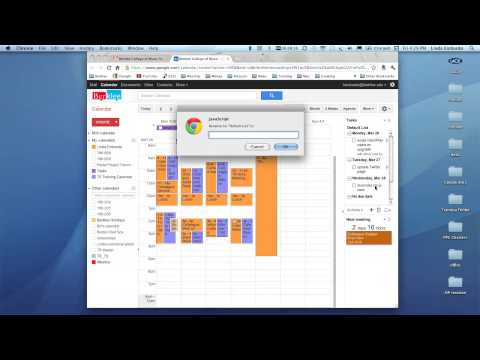 Creating tasks and to-do lists in Google Calendar