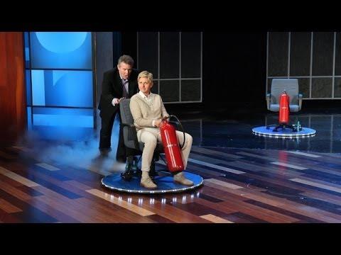 Steve Spangler Makes Ellen Float