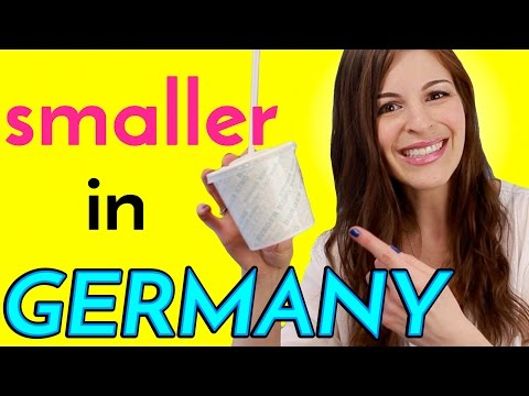 6 Things SMALLER IN GERMANY than