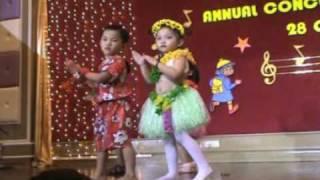 tahitian hula hawaian Best Kindergarten Tadika Mesra Matahari Kuantan : Girls & boys Hawai Dance