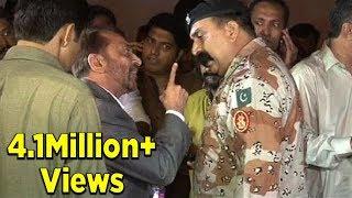 Rangers detain Farooq Sattar, Khawaja Izharul Hasan forcefully - Express News