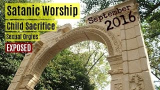 (NEW!) NYC Arch Of Triumph Temple Of BAAL September 2016
