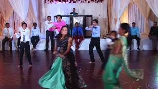 tulsi  shreemad reception dance  grooms side