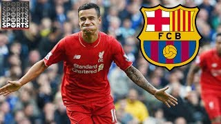 Barcelona Bid For Coutinho [Liverpool Say Player Not For Sale]