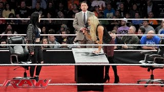 Divas Championship Contract Signing: Raw, November 16, 2015