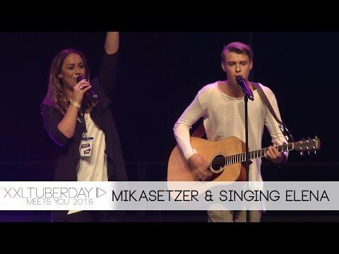 Mika Setzer & Singing Elena | XXL Tuberday meets YOU 2016 / Bühnenshow
