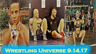 WU 9.14.17: Mark Hall hungry like a wolf; Cael helps David Taylor get better; Brooke Ence is back!!!