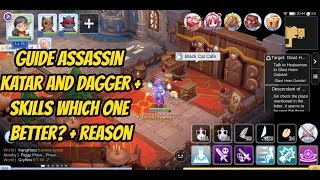 Best Skill Rune For Assassin Katar,Dagger , Build Guide Assassin Katar Ragnarok Mobile