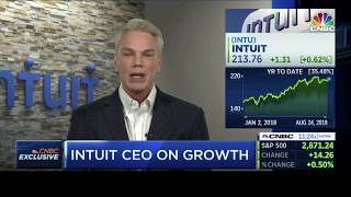 Intuit CEO Brad Smith Talks Diversity with CNBC Squawk Alley