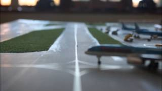 Model Airport - Stop Motion - Test