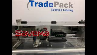 SAVEMA Traverse Printer installation by Trade Pack in Holland Market