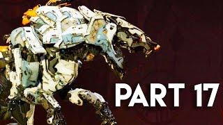 Horizon Zero Dawn Walkthrough Gameplay Part 17 - The Ravagers (PS4 PRO Gameplay)