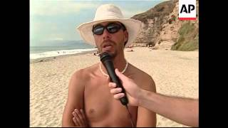 Feature on Chile''s first nudist beach