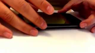 Kako namestimo kaljeno steklo na mobilni telefon?
