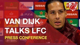 Virgil Van Dijk talks about Joe Gomez, Liverpool FC & more
