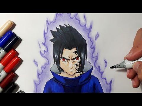 Xxx Mp4 How To Draw Sasuke Uchiha Step By Step 3gp Sex